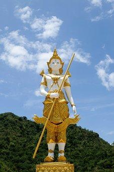 Angel, Deity, Thailand, Measure, Buddhism, Holy Thing