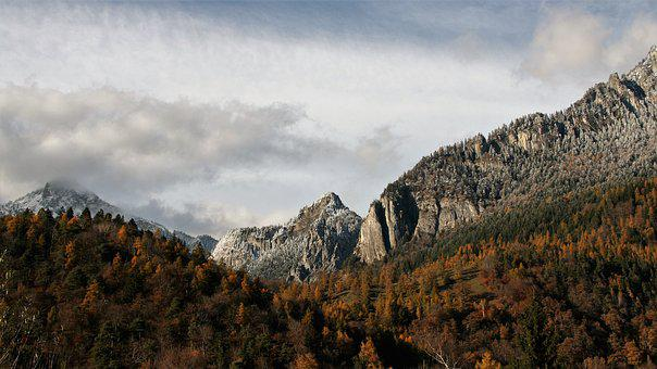 Tops, Top View, Landscape, Rock, Peace Of Mind, Autumn