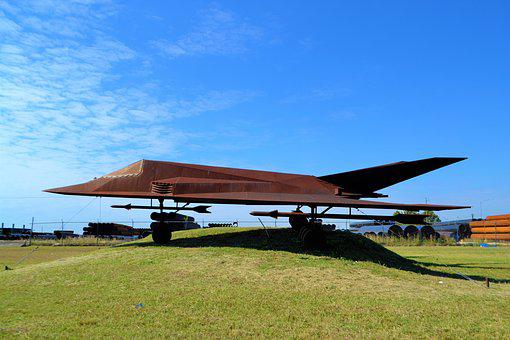 Stealth Bomber, Replica, Model, Statue, Aviation