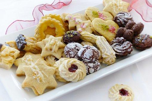 Christmas Cookies, Cookies, Bake, Advent, Christmas