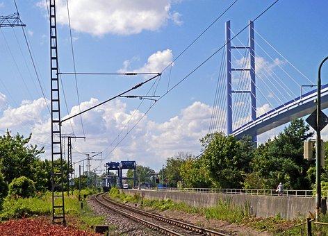 Strelasund Bridges, Rügen Bridge, Bascule Bridges