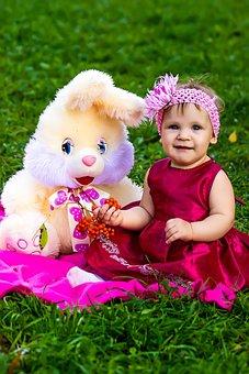 Photoshoot, The Little Girl, Baby Photo, Summer, Joy