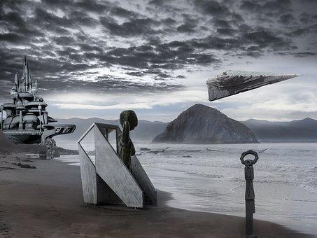 Future, Futuristic, Science Fiction, Fantasy, Spaceship