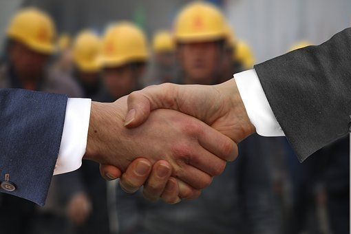 Shaking Hands, Handshake, Hands, Workers, Employee