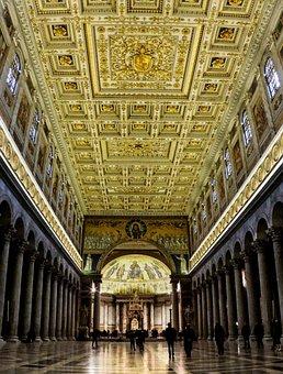 Rome, Lazio, Italy, Basilica, The Basilica Of San Paolo