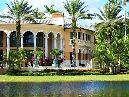 Florida, House, Weston, Million House, Home, Estate