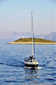 Navigation, Boat, Sailboats, Croatia, Sea