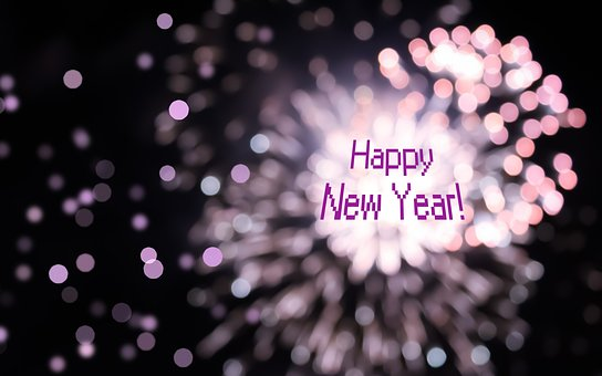 New Year, Holiday, Greeting, Celebration