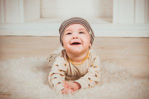 Babe, Smile, Newborn, Small Child, Slider, Boy, Person