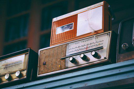 Radio, Old, Vintage, Retro, Antique, Music, Technology