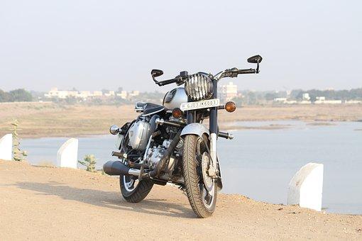 Royal Enfield, Bullet, Bike, Motorcycle, Offroad, Royal