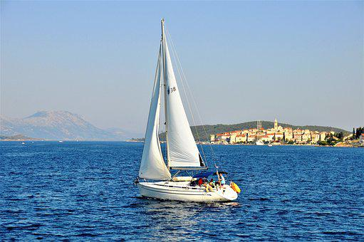 Boat, Sea, Croatia, Korcula, Navigation, Sailboats