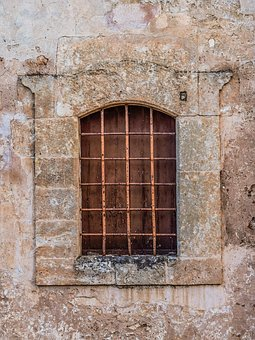 Window, Old, Architecture, Stone, Wall, Aged, Weathered