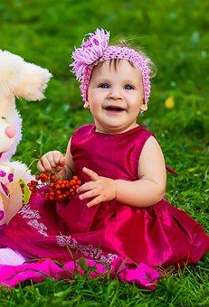 The Little Girl, Joy, Childhood, Nicely, Sunny Day