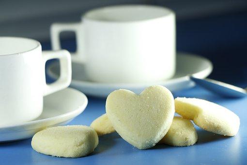Love, Biscute, Tea, Bakery, Biscuts, Breakfast, Brown