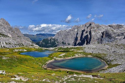Lavaredo, The Three Peaks Of Lavaredo