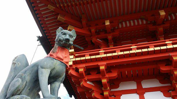 Kyoto, This One, Shrine, Tourism, Travel, Section