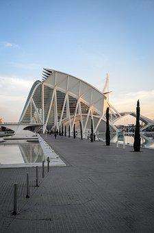 Valencia, Spain, Architecture, City Trip, Building, Art