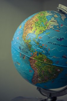 Globe, World, Earth, Continents, Country, America, Ball