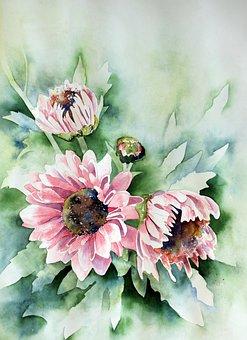 Watercolour, Painting, Art, Paint, Watercolor, Nature