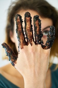 Hands, Chocolate, Women's, Young, Cook, Food, Cake