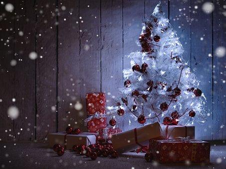 Advent, Fir, Christmas Tree, Gifts, Christmas