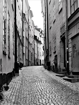Stockholm, The Old Town, Alley, Architecture, City