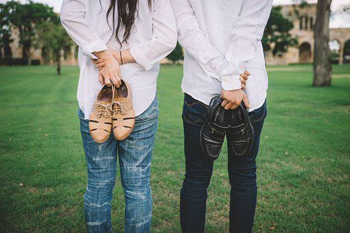 Couple, Shoes, Couple Shoes, Wedding, Girlfriend