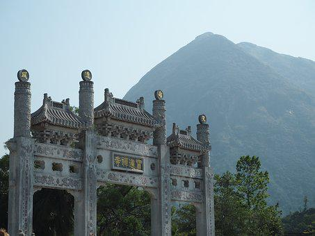 Mountains, Chinese, Culture, Temples, Hong Kong