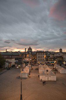 Florence, Dom, Duomo, Roofs, City, Outlook, Dome