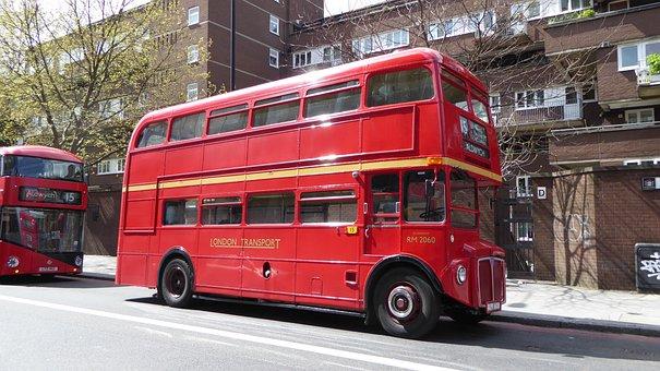 London, Double Decker Bus, Bus, England, Double Decker