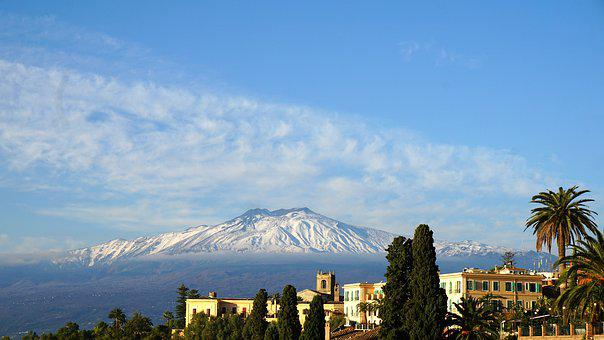 Etna, Volcano, Sicily, Italy, Summit, Mountain