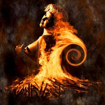 Cd Cover, Fire, Composing, Fantasy, Photo Montage
