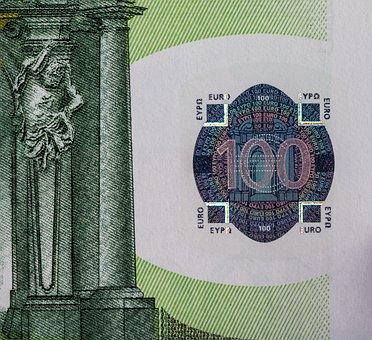 Euro, Money, Currency, Dollar Bill, Banknote, Finance