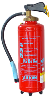Fire Extinguisher, Isolated, Fire, Red, Bottle