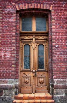 Door, Front Door, Old, Oak, Input, Old Door