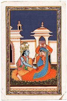 Radha, Krishna, Forever Love, India, Hindu, God