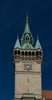 Braunschweig, Town Hall, Lower Saxony, Facade