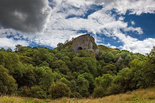 Thor's Cave, Manifold Valley, White Peak, Landscape