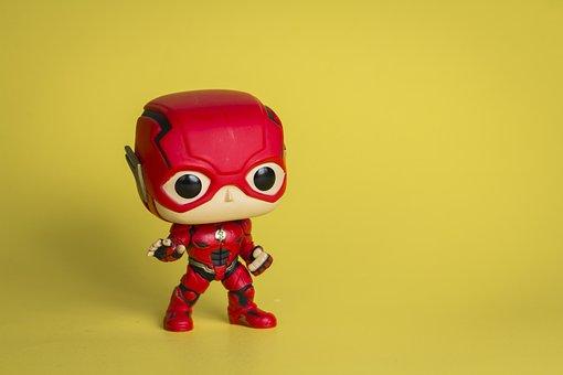 The Flash, Flash, Marvel Superhero, Marvel Figurine