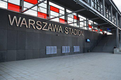 Warsaw, Railway Station, Stadion, National Stadium