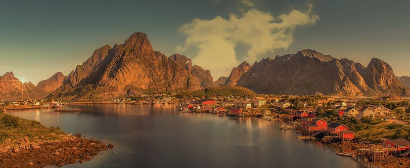 Lofoty, The Archipelago Of The, Norway, Nature