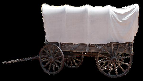 Dare, Usa, Covered Wagon, Old, American, Nostalgia