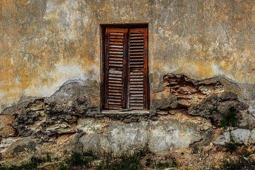 Old House, Abandoned, Wall, Window, Decay, Broken