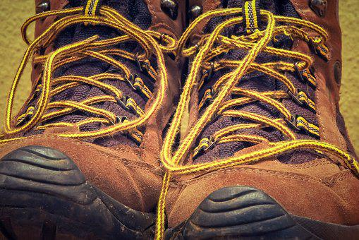 Shoes, Hiking Shoes, Hiking, Outdoor, Leather Shoes