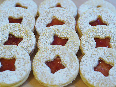 Biscuit, Christmas Cookie, Delicious, Sweet, Pastries