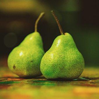 Pear, Fruit, Fresh, Healthy, Food, Vitamin, Green