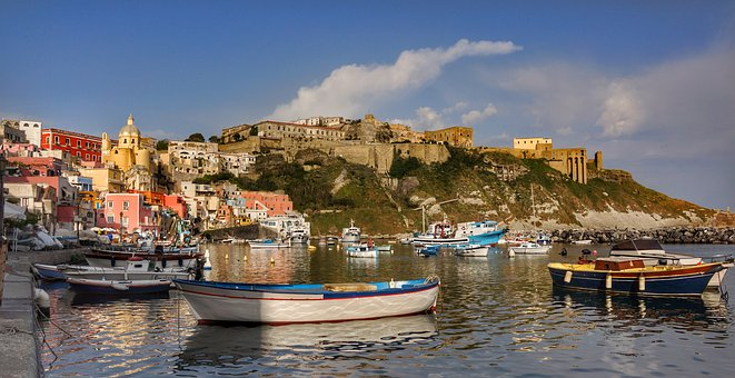 Provide, Island, Italy, Harbour, Port Boats