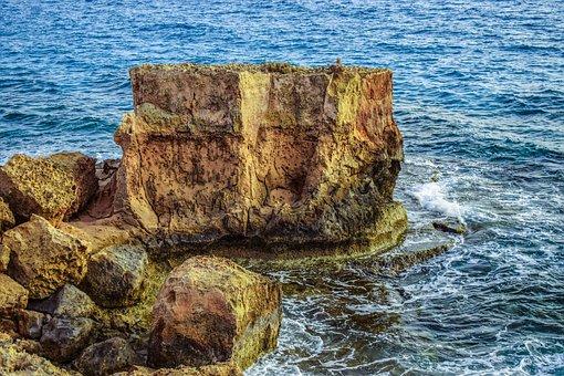 Rock, Rocky Coast, Sea, Landscape, Erosion, Cape
