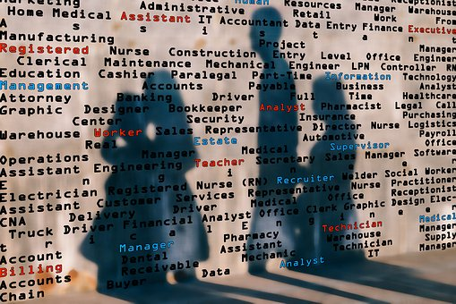 Shadow, Wall, Professions, Job, Search, Work